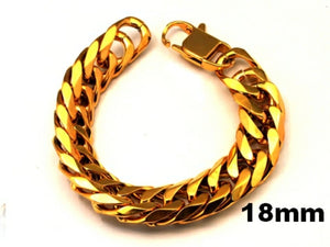 316L gold colored Stainless Steel bracelet