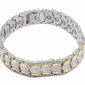 316L stainless steel magnetic bracelet 8.5 inch long