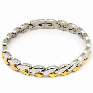 316L stainless steel magnetic bracelet 8 inch long