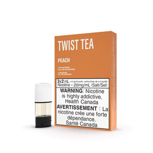 STLTH PODS | TWIST TEA - ICED PEKOE PEACH