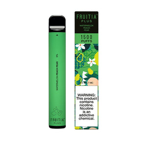FRUITIA - WATERMELON PEACH PEAR - DISPOSABLE POD