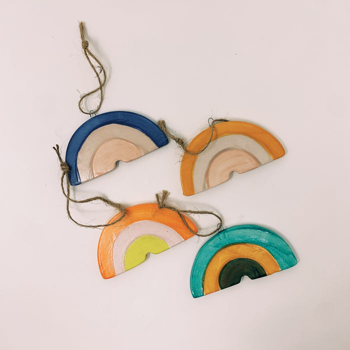 Luna Reece Ceramics - Rainbow Ornament