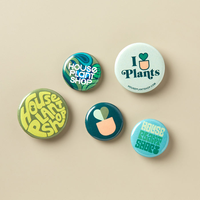 Graphic Buttons - 5 Pack