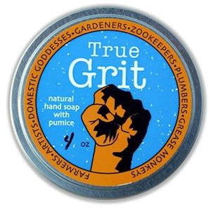 True Grit Hand Soap with Pumice