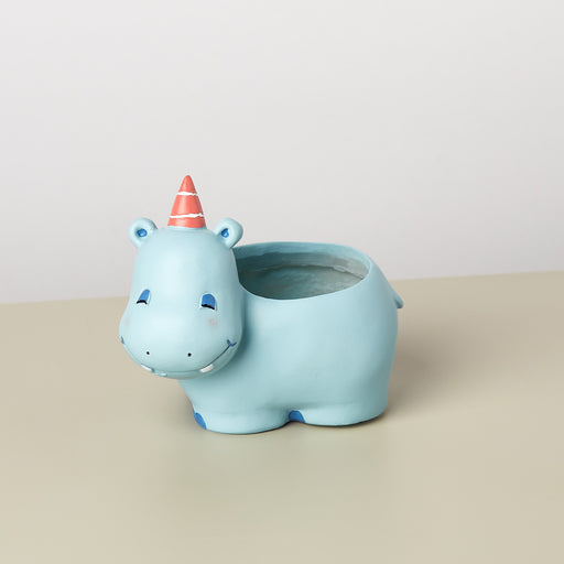 Small Animal Planter 'Hippo'