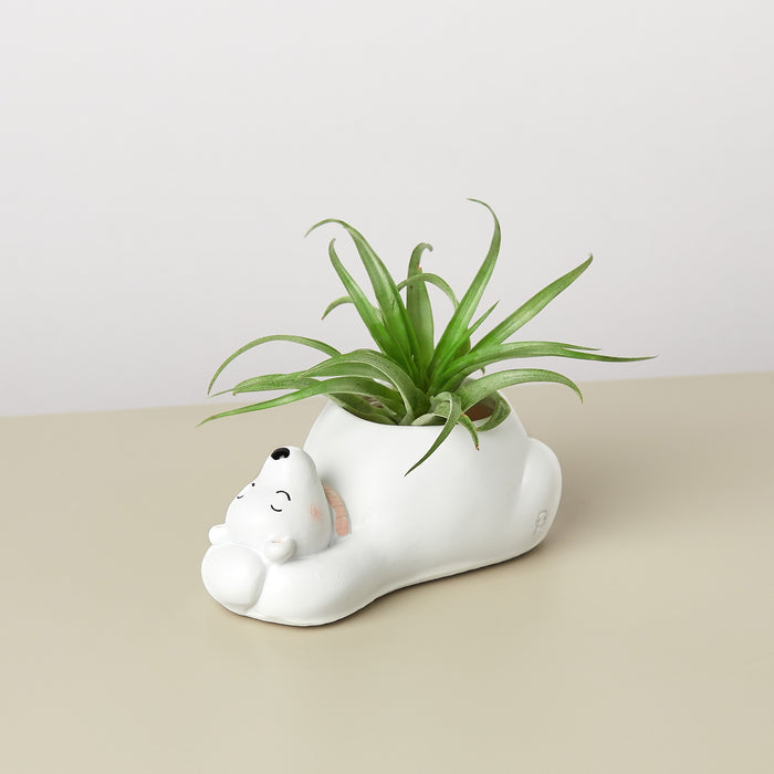 Small Animal Planter 'Polar Bear'