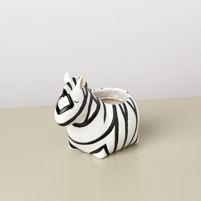 Small Animal Planter 'Zebra'