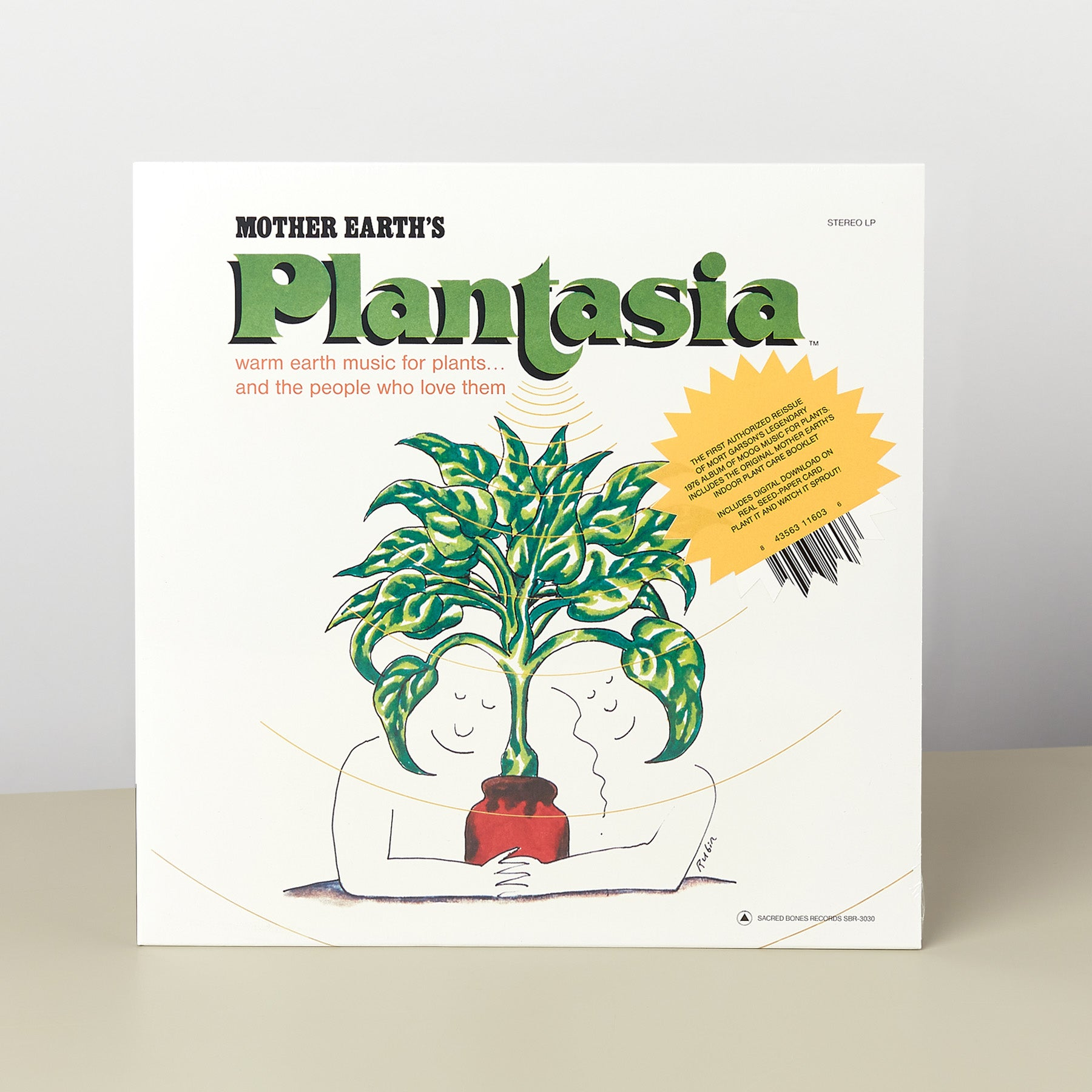 Plantasia Black Vinyl LP