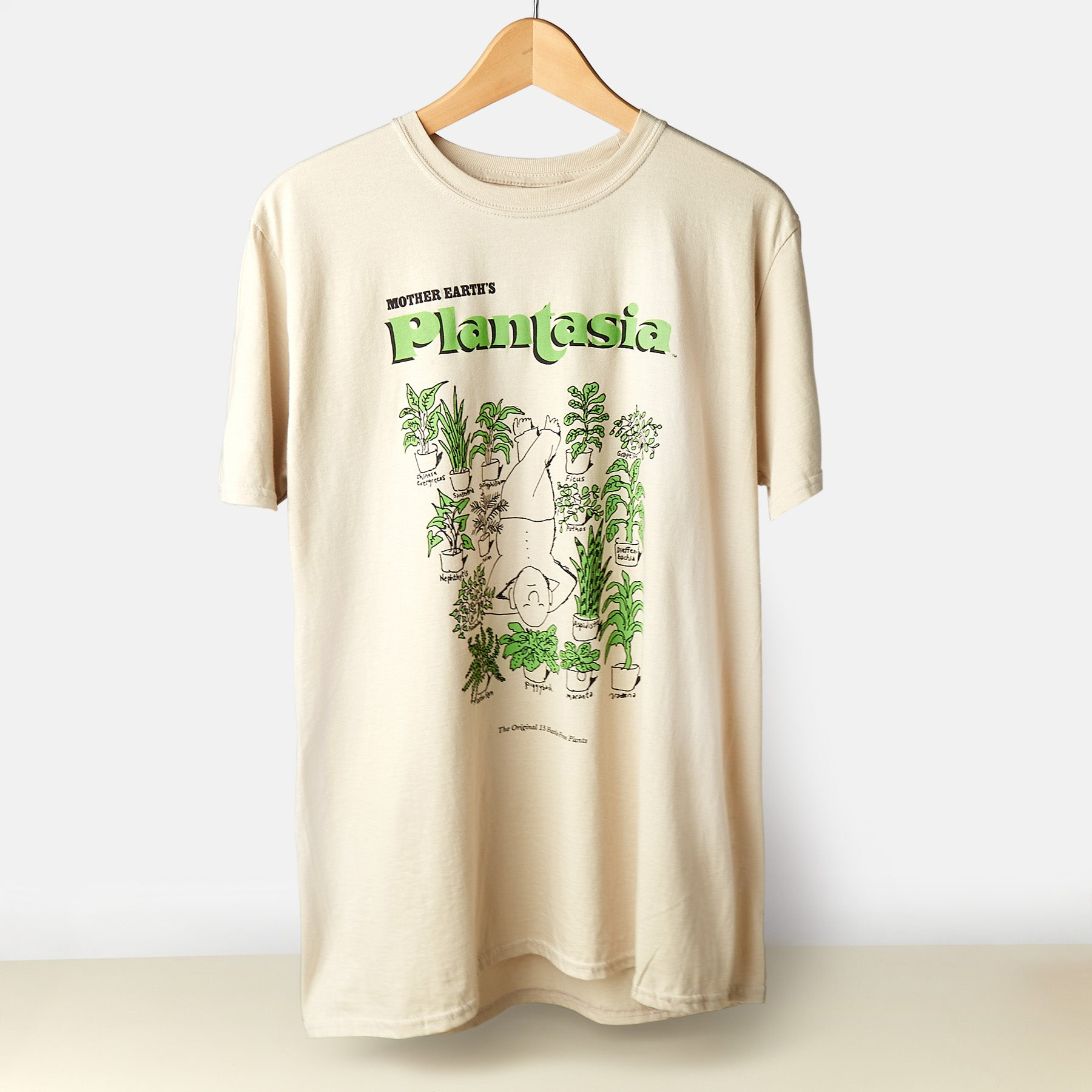 Plantasia 'Man with His Plants' T-Shirt