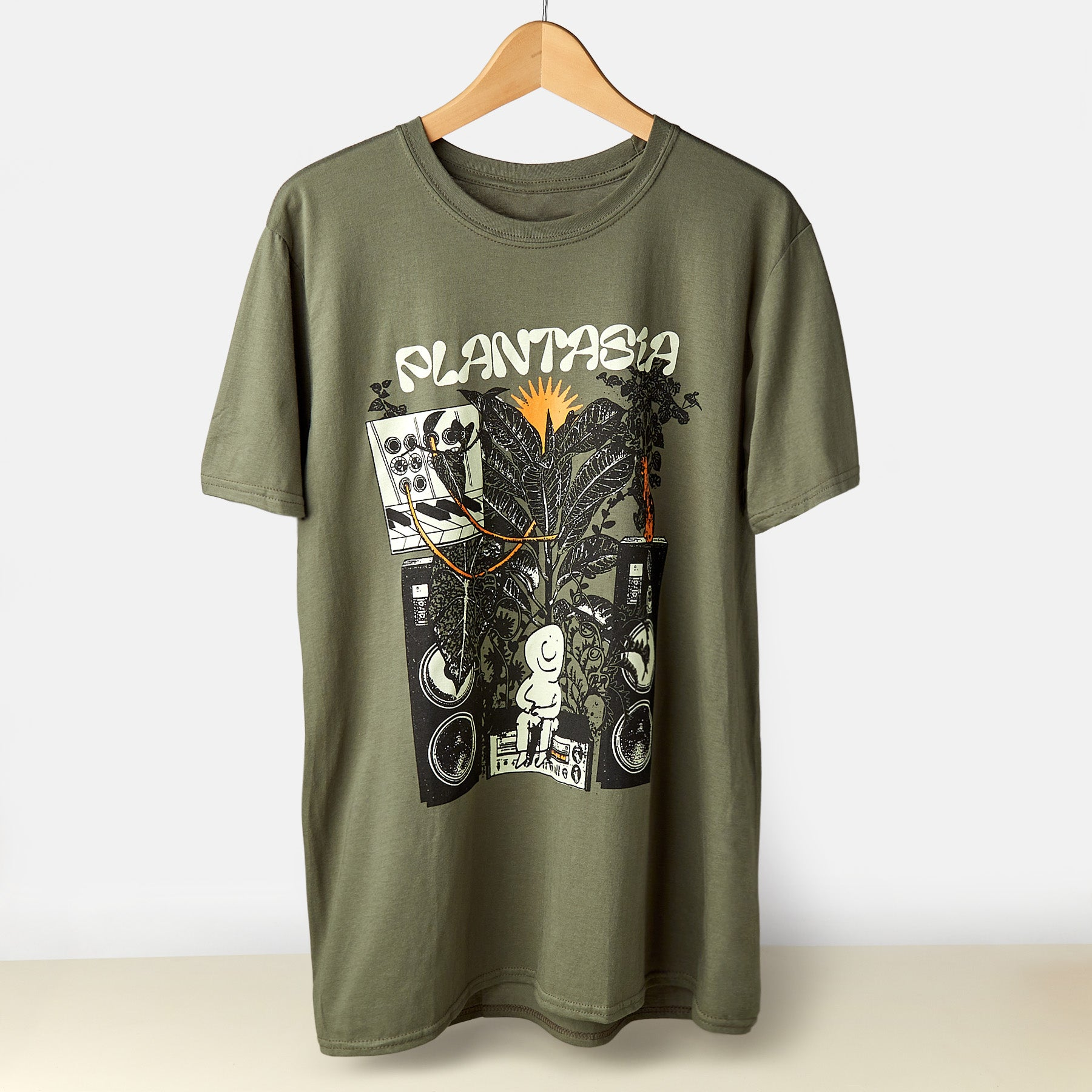 Plantasia 'Bill Connors' Green - T-Shirt