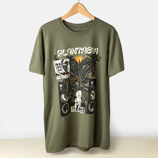 Plantasia 'Bill Connors' Green - T-Shirt - House Plant Shop