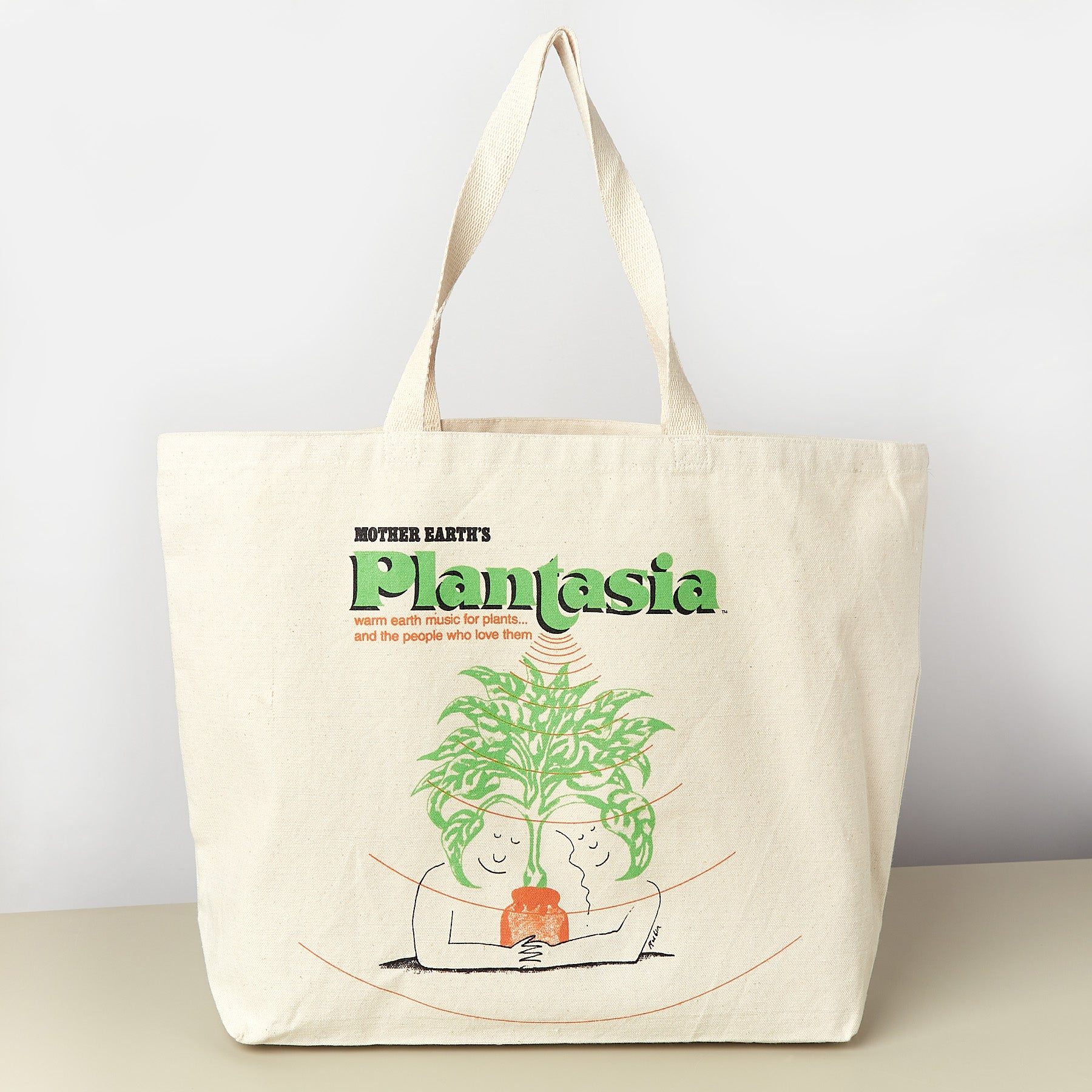 Plantasia Jumbo Tote Bag - House Plant Shop