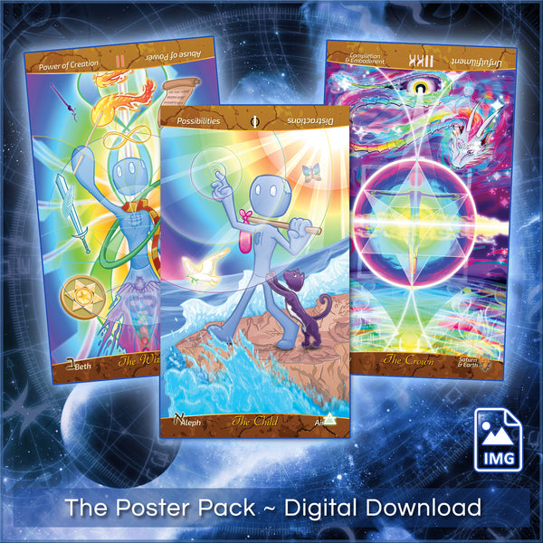 Poster Pack ~ Patch Tarot