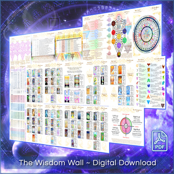 The Wisdom Wall ~ Patch Tarot