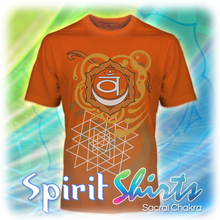 Load image into Gallery viewer, Spirit Shirts ~ Sacral Chakra