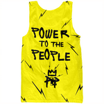 Power Yellow Tank