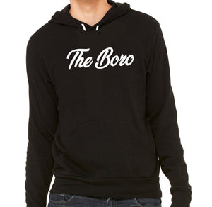 THE BORO CURSIVE BLACK/W