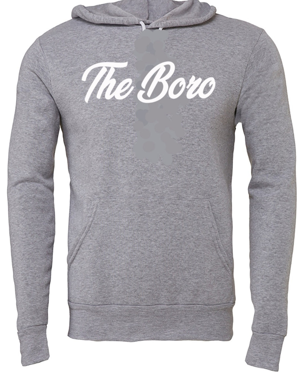THE BORO CURSIVE GREY/W