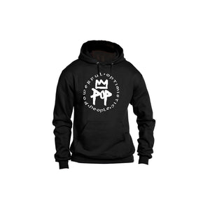 Powerful Optimistic People hoodie Black