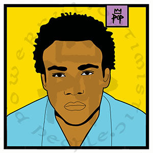 "Art by Kingpop William Floyd ""gambino"""