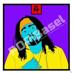 "Art by Kingpop William Floyd ""Wale"""