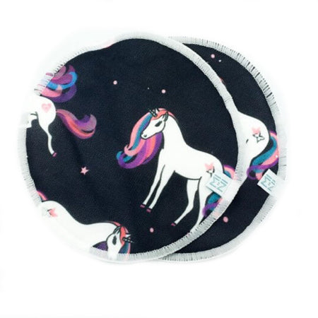 Ensemble de 2 compresses d'allaitement - Dancing Unicorn