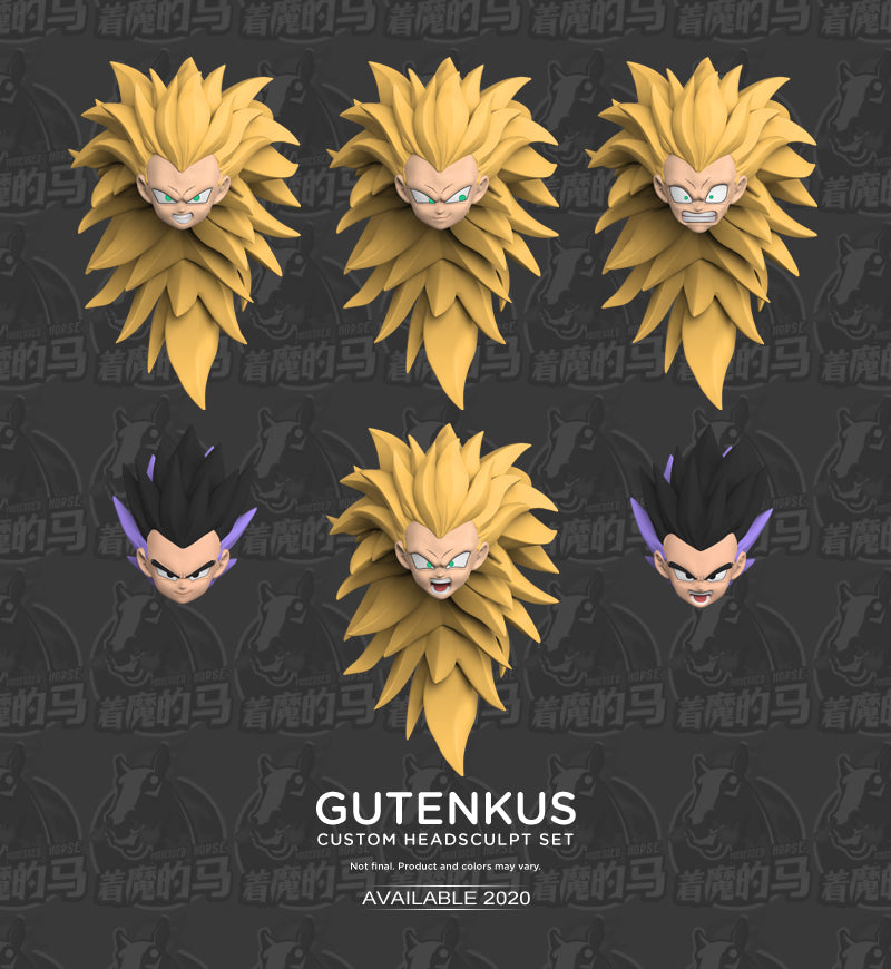 GUTENKS CUSTOM HEADSCULPT SET