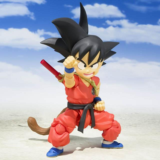 Kid Goku | OFFICIAL BANDAI S.H.FIGUARTS | DB - Omnime