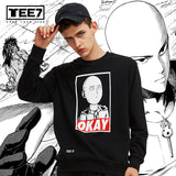"One Punch Man ""OKAY"" Sweatshirt"