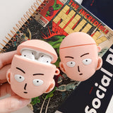 One Punch Man Saitama Airpod Cases