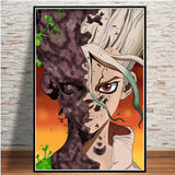 Dr. Stone (Various Paintings) HD Wall Canvas Posters