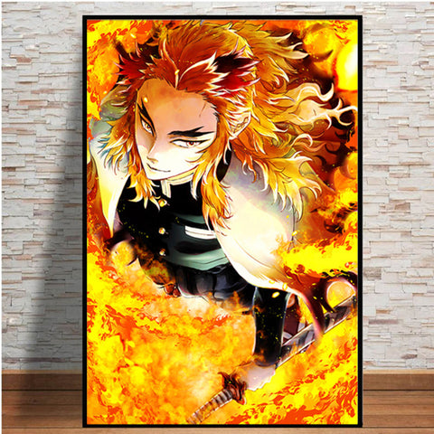 Demon Slayer (Various Paintings 2) HD Wall Canvas Posters