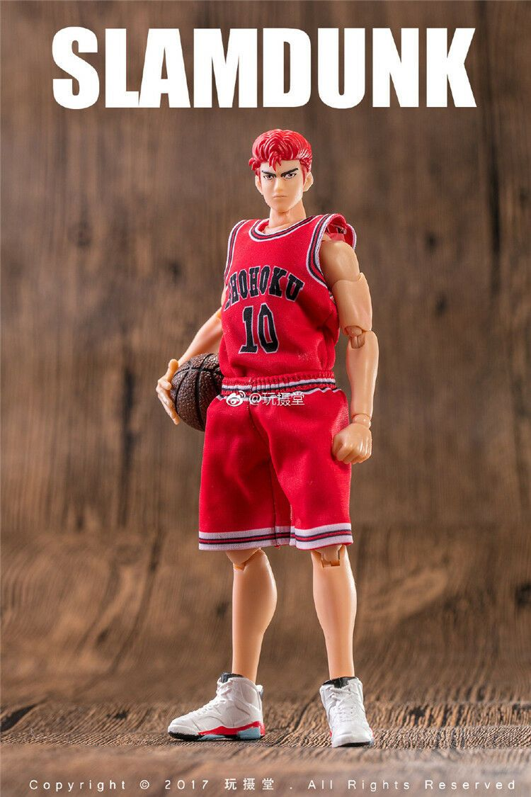 Dasin Model - Slam Dunk Basketball #10 Sakuragi Hanamichi