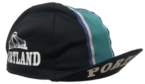 Cento Exclusive: Portland Cycling Cap Featuring the St. John's Bridge
