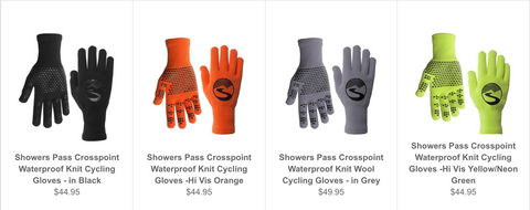 Shower Pass Crosspoint Gloves