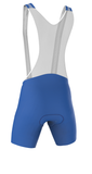 Professional 'POWER' Cycling Bib Shorts in Royal Blue Made in Italy by GSG