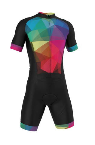 Professional 'GEO' Road Suit (skinsuit) Made in Italy by GSG