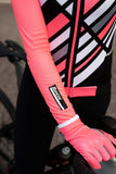 Coral Raggio Jersey by Santini in Pink | Cento Cycling