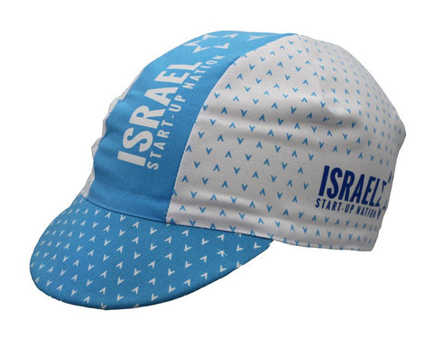 Israel Start-Up Nation Katusha Pro Team Cycling Cap - Made in Italy by Apis