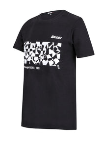 Men's Team Peugeot Art Series T-Shirt Made in Italy by Santini