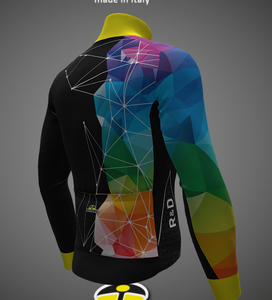 Spider Design Thunder Windproof Cycling Jacket. Made in Italy by GSG
