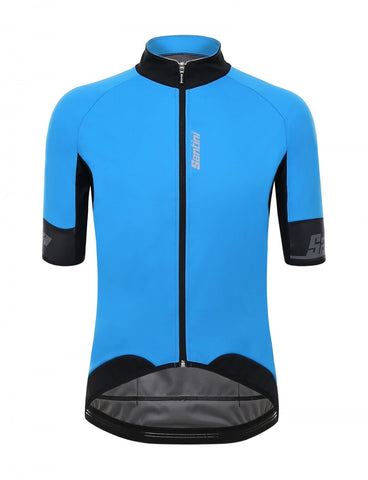 Beta Cycling Jersey in Blue. Made in Italy by Santini e187ee418