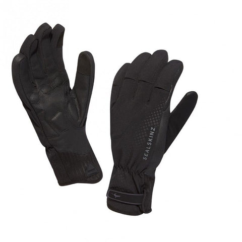 Sealskinz Waterproof Brecon XP Cycling Gloves - winter, black
