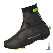 SealSkinz 2018Windproof Cycling Lightweight Overshoe/Booties/Shoe covers in black