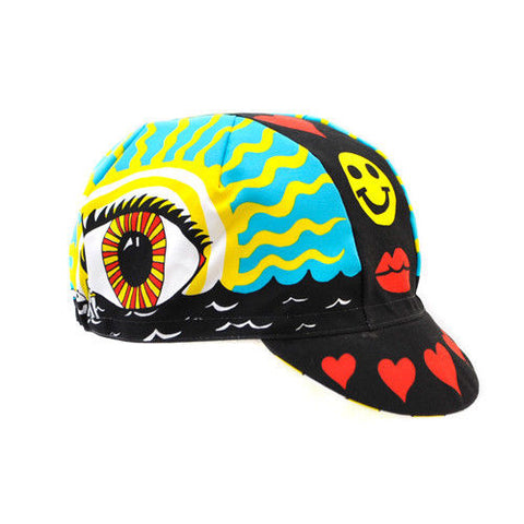 Ana Benaroya 'Eye of the Storm' Cycling Cap