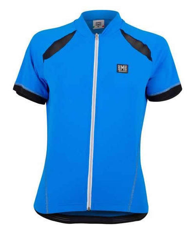 Turquoise by Santin Gold Aero Short Sleeve Cycling Jersey Women/'s Anna Meares