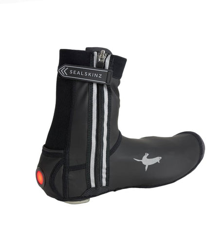 All Weather LED Open Sole Cycle Overshoe