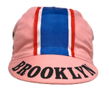 Brooklyn Cycling Cap in Pink - Made in Italy by Apis