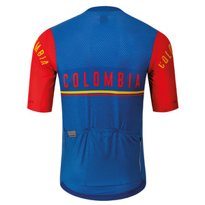 2020 Colombian Collection: Men's Short Sleeve Cycling Jersey by Suarez