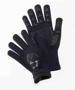 Crosspoint Knit Waterproof Gloves Black Showers Pass